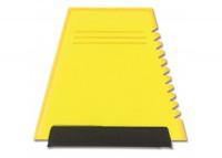 Gefrostet Gelb